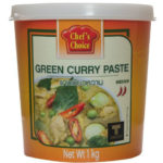 Green Curry Pasta - Groene kerrie pasta