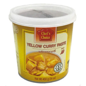 Yellow Curry Paste - Cheffchois